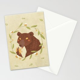 Whoops! - Bear - Stationery Cards