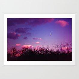 Full Moon #1 Art Print