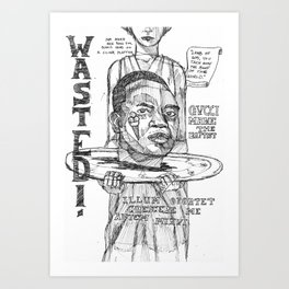 GucciMane Art Print