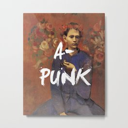 A-PUNK Art Print Metal Print