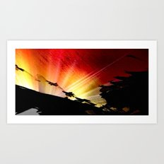 Light and Shaddow. Art Print