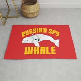 Russian Spy Whale Rug