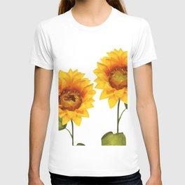 Sunflowers Illustration T-shirt