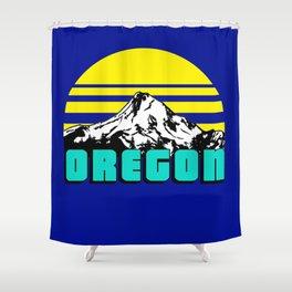 Oregon 1975 Shower Curtain