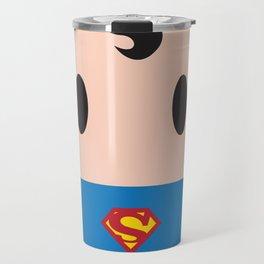 Superman Block Travel Mug