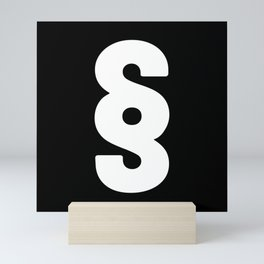 The Double S Mini Art Print