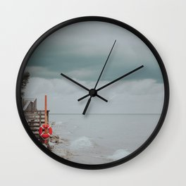 Perfect Storm Wall Clock