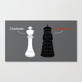 Ultimate Checkmate Canvas Print