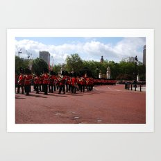 Soldiers March 21 Art Print