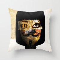 illuminati Throw Pillows featuring illuminati? by Jack