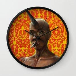 untitled (unicorn) Wall Clock