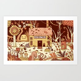 Eureka Factory Art Print