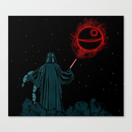 The Darth Lord Canvas Print