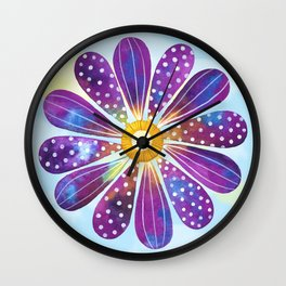 Happy Go Lucky Wall Clock