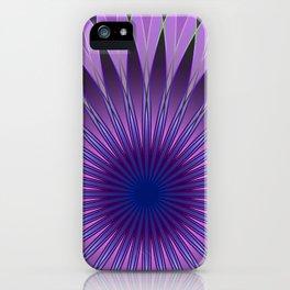 Lavender mandala iPhone Case