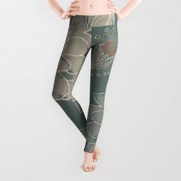 Cocoa Paisley VI Leggings