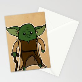 Yoda Stationery Cards