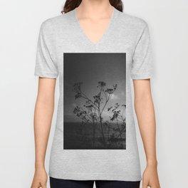 Big Sur Wild Flowers IV Unisex V-Neck