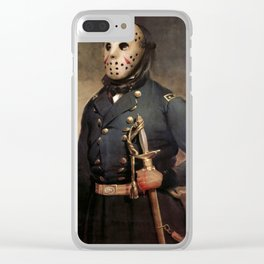 Jason Voorhees Friday The 13th Clear iPhone Case