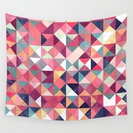 Lovely Geometric Background Wall Tapestry