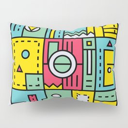 Play on words | Graphic jam Pillow Sham