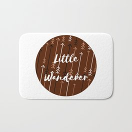 Won't You Wander Back to Me? (Coffee & Cream) Bath Mat