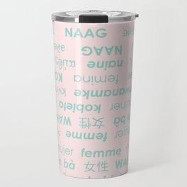 international woman Travel Mug