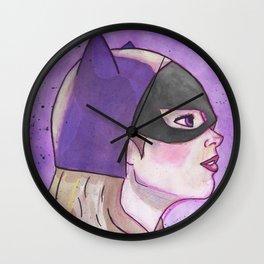 Batgirl Wall Clock