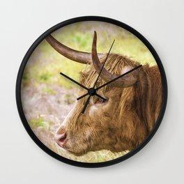 Longhorn 2 Wall Clock