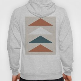 Mid Century Triangles Hoody