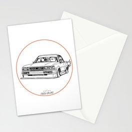 Crazy Car Art 0209 Stationery Cards