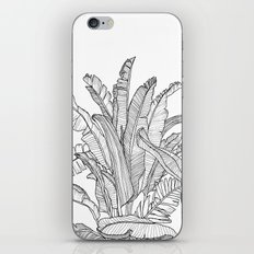 Palm Beach - Black and White iPhone & iPod Skin