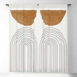 Minimalist Space Blackout Curtain