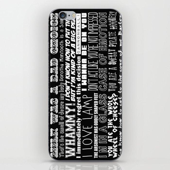 Anchorman Love iPhone Skin