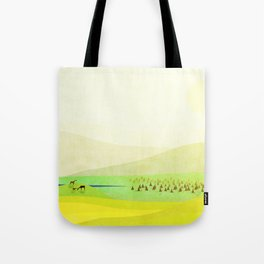 Minimal Meadow Redux Tote Bag