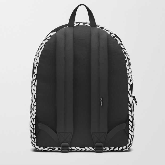 Cable Row Black Backpack