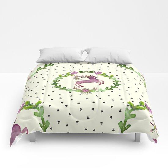 Deer Pattern 02 Comforters