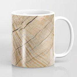 Weathered Wood Grain Coffee Mug