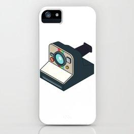Retro Polaroid iPhone Case