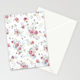 Heirloom Tea Rose Stationery Cards
