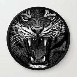 Tiger 2 Wall Clock