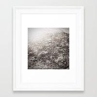 walk the moon Framed Art Prints featuring moon walk by SarahPerez