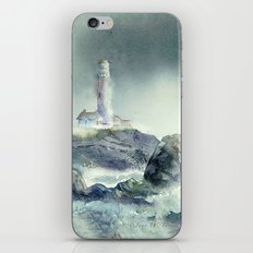 Pigeon Point Lighthouse iPhone & iPod Skin