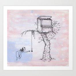 Pianotree Art Print