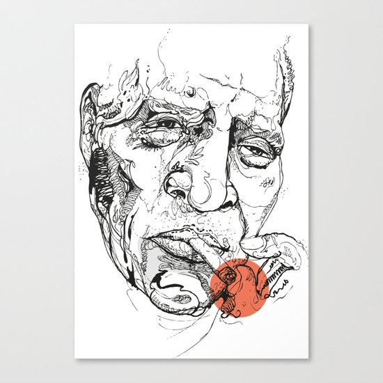 Howlin' Wolf - Get your Howl! Canvas Print