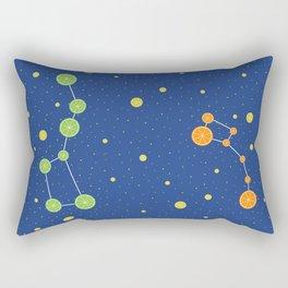 Citrus constellations Rectangular Pillow