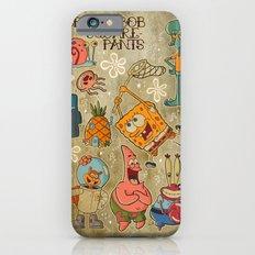 Sailor Jerry Spongebob Tattoo Sheet iPhone 6 Slim Case