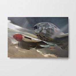 Heinkel HE111 Metal Print