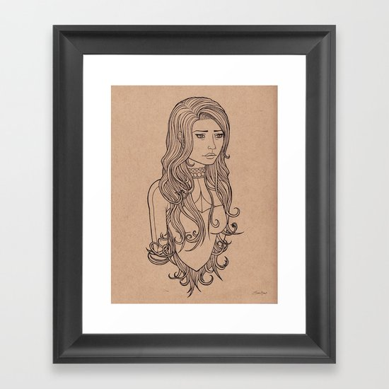 Long Day Framed Art Print