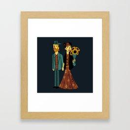 Love is Art Frida Kahlo and Van Gogh Framed Art Print